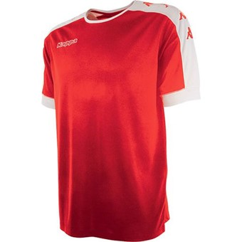 Picture of Kappa Tanis Shirt Korte Mouw - Rood