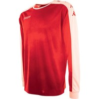 Kappa Tanis Voetbalshirt Lange Mouw Kinderen - Rood
