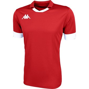 Picture of Kappa Tranio Shirt Korte Mouw - Rood / Wit
