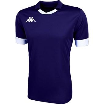 Picture of Kappa Tranio Shirt Korte Mouw - Marine / Wit