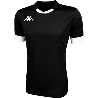 Picture of Kappa Tranio Shirt Korte Mouw - Zwart / Wit