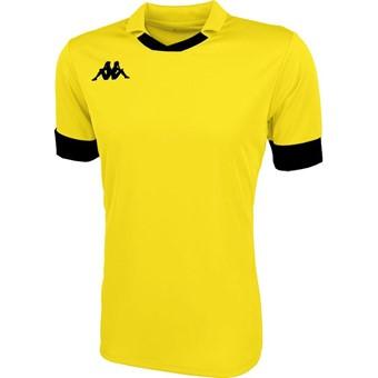 Picture of Kappa Tranio Shirt Korte Mouw - Geel / Zwart