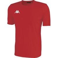 Kappa Rovigo Shirt Korte Mouw - Rood