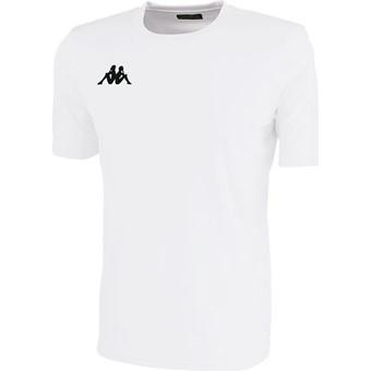 Picture of Kappa Rovigo Shirt Korte Mouw Kinderen - Wit
