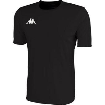 Picture of Kappa Rovigo Shirt Korte Mouw Kinderen - Zwart