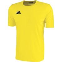 Kappa Rovigo Shirt Korte Mouw Kinderen - Geel