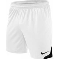 Nike Dri Fit Knit Short - Wit / Zwart