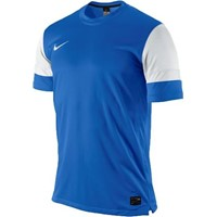 Nike Trophy Shirt Korte Mouw - Royal / Wit