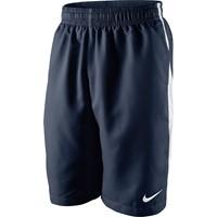 Nike Ts Longer Woven Short Kinderen - Obsidiaan / White