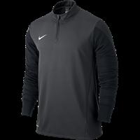 Nike Squad 14 Midlayer Kinderen - Anthracite / Black / Electric Green / White