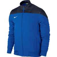 Nike Squad 14 Sideline Woven Jacket - Royal Blue / Obsidiaan / White