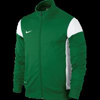 Nike Academy 14 Sideline Knit Jacket Kinderen - Pine Green / White
