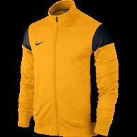 Nike Academy 14 Sideline Knit Jacket Kinderen - University Gold / Black