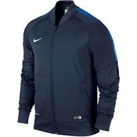 Nike Squad 15 Sideline Knit Jacket - Obsidiaan / Royal Blue