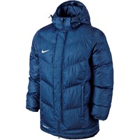 Nike Team Winter Jacket - Obsidiaan / White