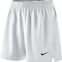 Nike Woven Short Dames - White / Black