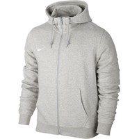 Nike Team Club Full Zip Hoody Sweater Met Rits Kinderen - Heather Grey