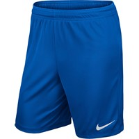 Nike Park II Short (Met Binnenslip) - Royal Blue / White