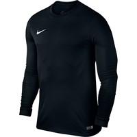 Nike Park VI Voetbalshirt Lange Mouw - Black