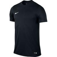 Nike Park VI Shirt Korte Mouw - Black