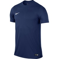 Nike Park VI Shirt Korte Mouw - Midnight Navy