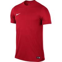Nike Park VI Shirt Korte Mouw - University Red