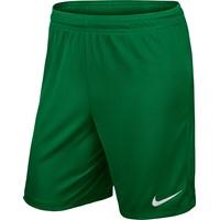 Nike Park II Short (zonder Binnenslip) - Pine / White