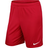 Nike Park II Short (zonder Binnenslip) - University Red / White