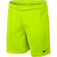 Nike Park II Short (zonder Binnenslip) Kinderen - Fluogeel