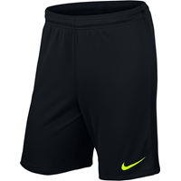 Nike League Keepershort Kinderen - Zwart / Fluogeel