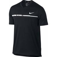 Nike Court Dry Challenger Tennistop - Zwart / Wit