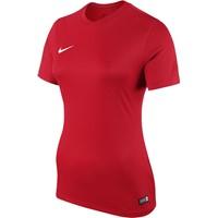 Nike Park Shirt Korte Mouw Dames - University Red