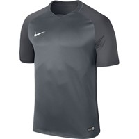 Nike Trophy III Shirt Korte Mouw - Cool Grey / Dark Grey