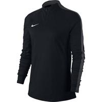 Nike Academy 18 Ziptop Dames - Zwart / Antraciet