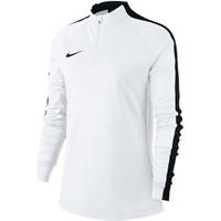 Nike Academy 18 Ziptop Dames - Wit / Zwart