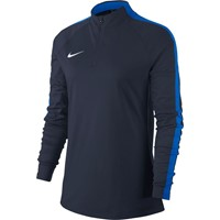 Nike Academy 18 Ziptop Dames - Marine / Royal