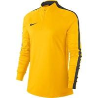 Nike Academy 18 Ziptop Dames - Geel / Antraciet