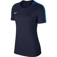 Nike Academy 18 T-shirt Dames - Marine / Royal