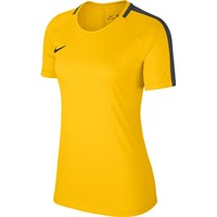 Nike Academy 18 T-shirt Dames - Geel / Antraciet