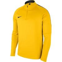 Nike Academy 18 Ziptop - Geel / Antraciet
