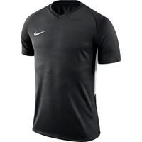 Nike Tiempo Premier Shirt Korte Mouw - Zwart / Wit