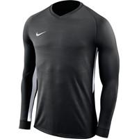 Nike Tiempo Premier Voetbalshirt Lange Mouw - Zwart / Wit
