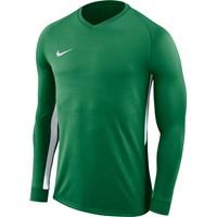 Nike Tiempo Premier Voetbalshirt Lange Mouw - Groen / Wit