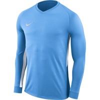 Nike Tiempo Premier Voetbalshirt Lange Mouw - Hemelsblauw / Wit