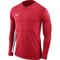 Nike Tiempo Premier Voetbalshirt Lange Mouw - Rood / Wit