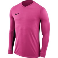Nike Tiempo Premier Voetbalshirt Lange Mouw - Vivid Pink / Black