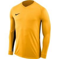 Nike Tiempo Premier Voetbalshirt Lange Mouw - Geel / Zwart