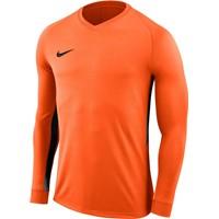 Nike Tiempo Premier Voetbalshirt Lange Mouw - Oranje / Zwart