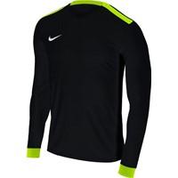 Nike Park Derby II Voetbalshirt Lange Mouw - Zwart / Fluogeel