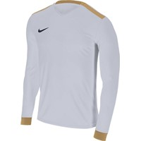Nike Park Derby II Voetbalshirt Lange Mouw - Wit / Goud